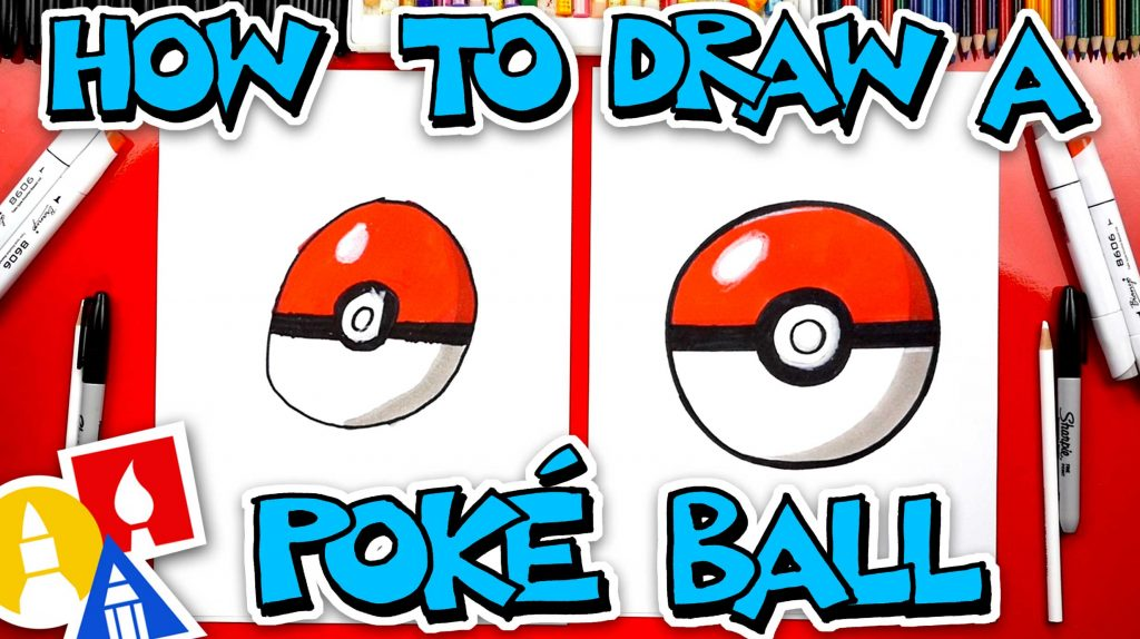 How To Draw A Poké Ball From Pokémon