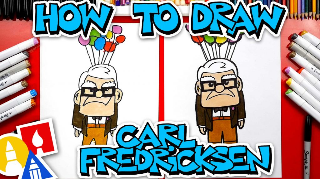 How To Draw Carl Fredricksen From Up