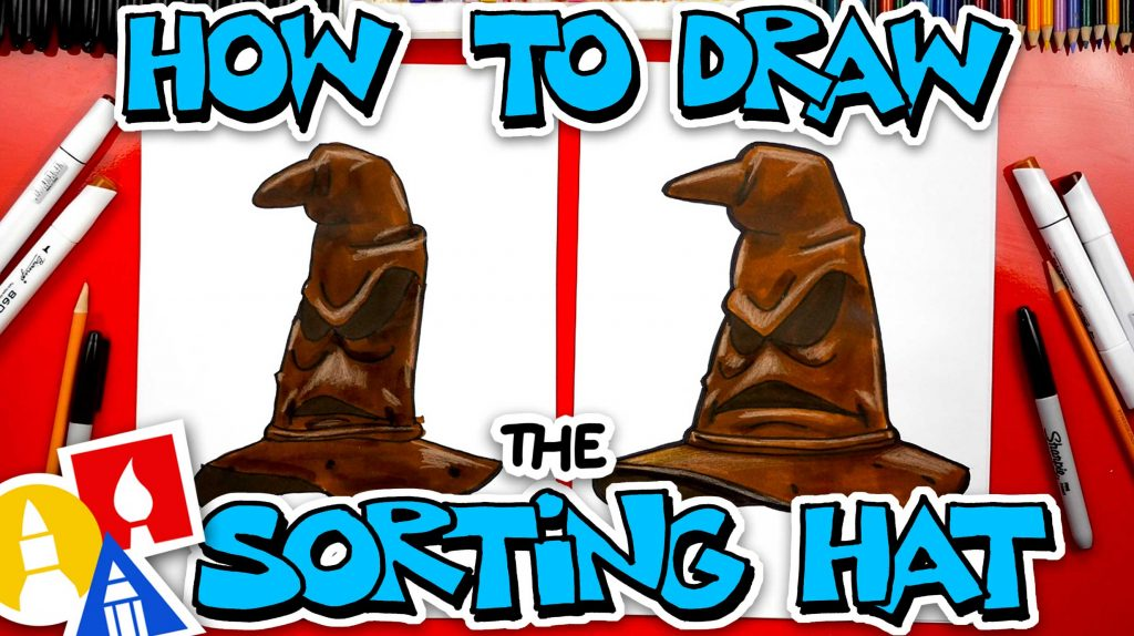 How To Draw Sorting Hat From Harry Potter