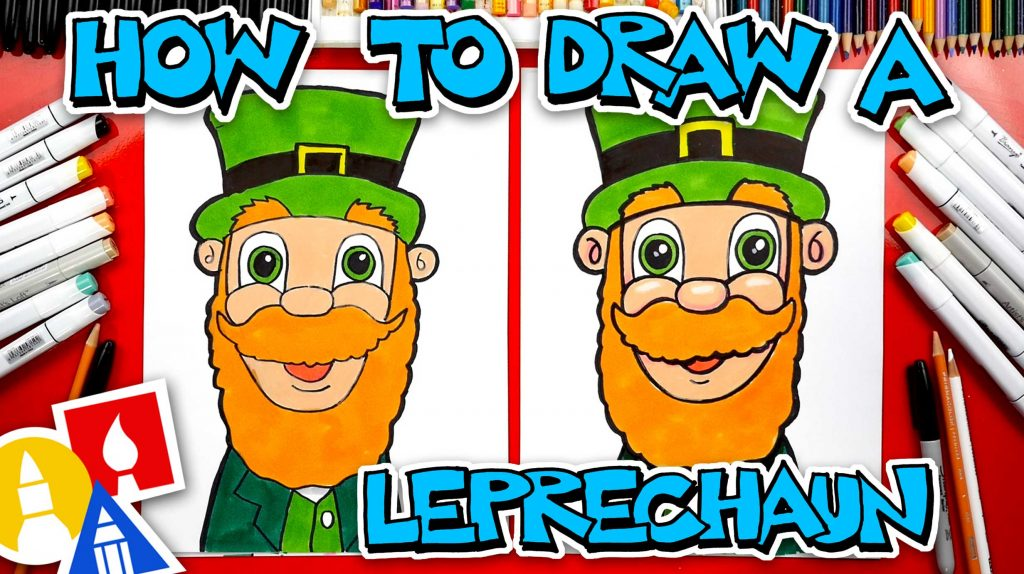How To Draw A Big Leprechaun Face