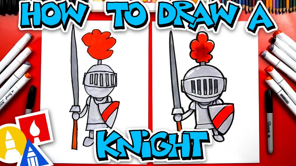 How To Draw A Knight In Shining Armor