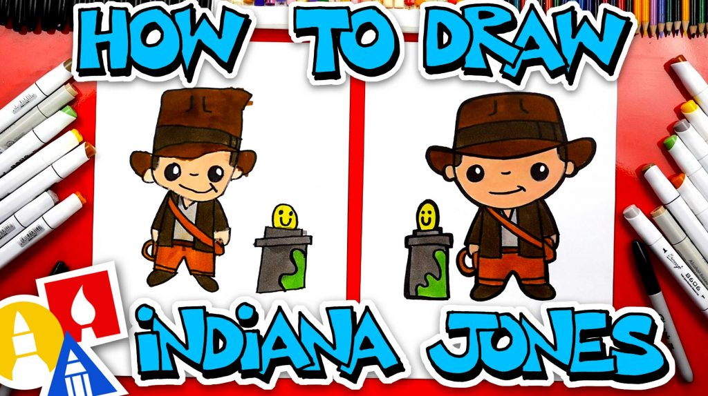 How To Draw Indiana Jones