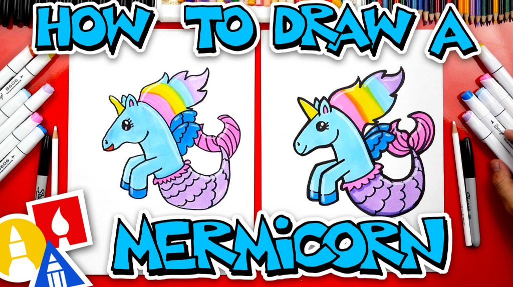 How To Draw A Mermicorn