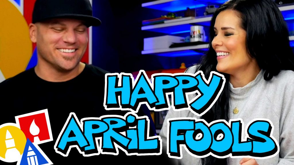 Happy April Fools – Art For Kids Hub Bloopers (2019-2020)