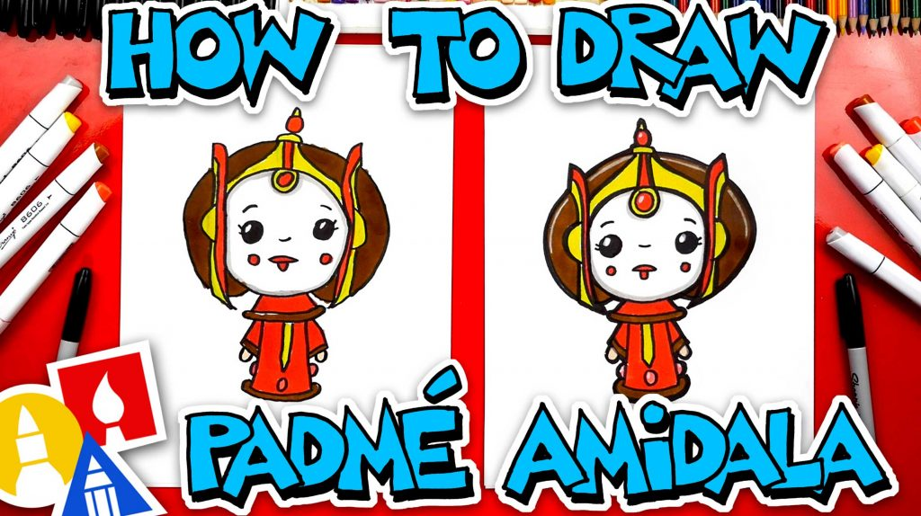 How To Draw Padmé Amidala From Star Wars