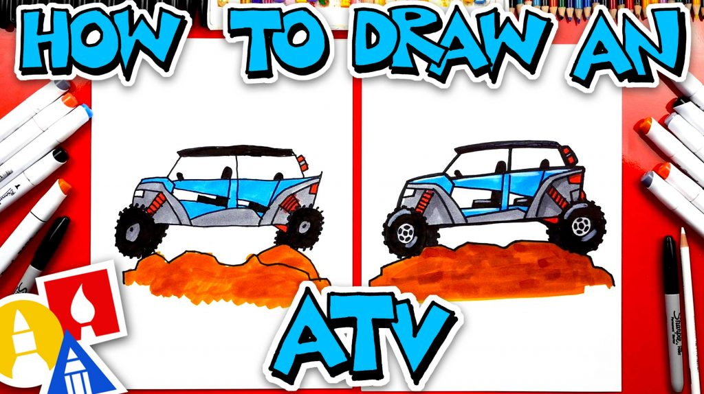 How To Draw An ATV