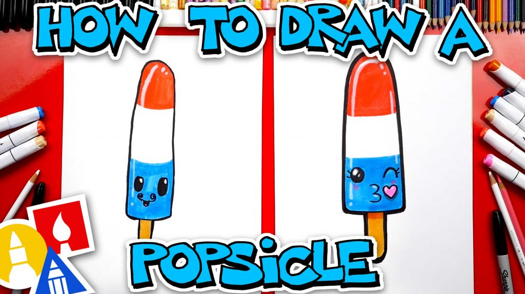 How To Draw A Rocket Popsicle