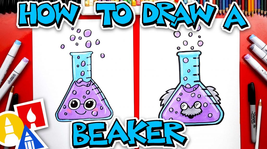 How To Draw A Science Beaker
