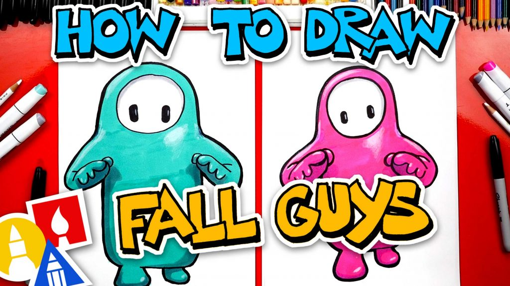 How To Draw Fall Guys: Ultimate Knockout
