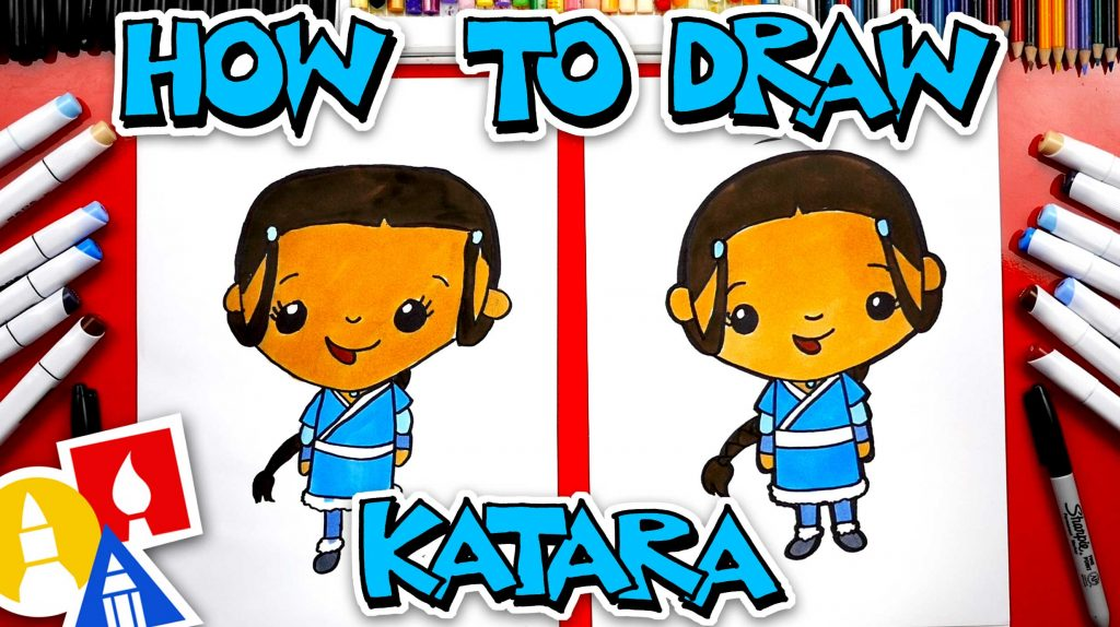 How To Draw Katara From Avatar: The Last Airbender