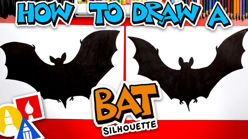 How To Draw A Cool Bat Silhouette
