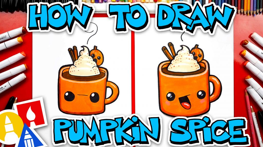 How To Draw Pumpkin Spice Hot Chocolate