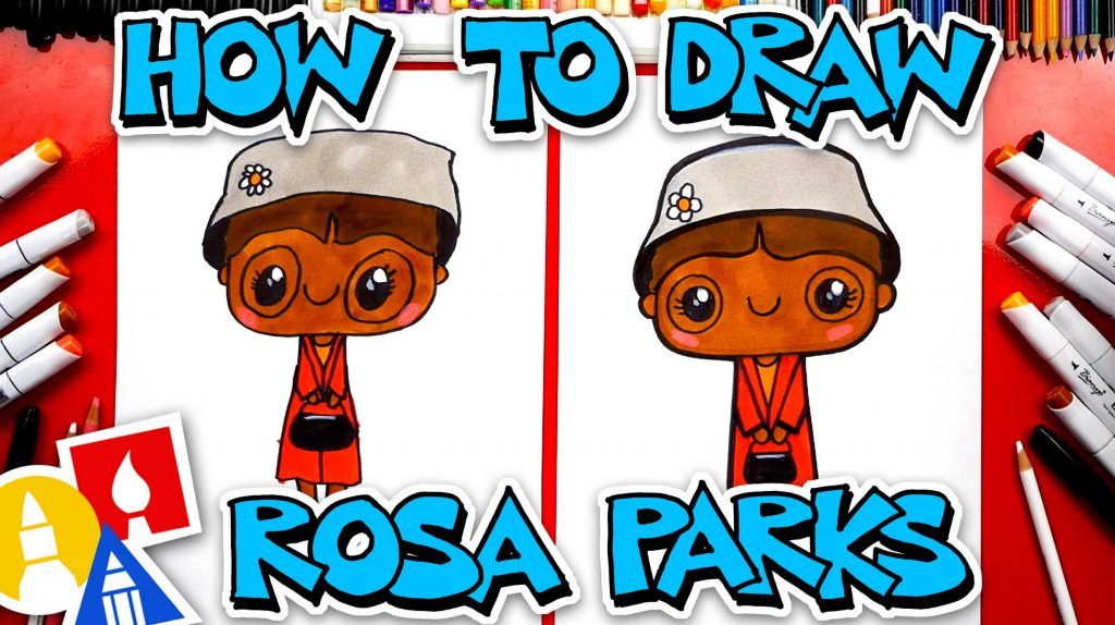 How To Draw Rosa Parks