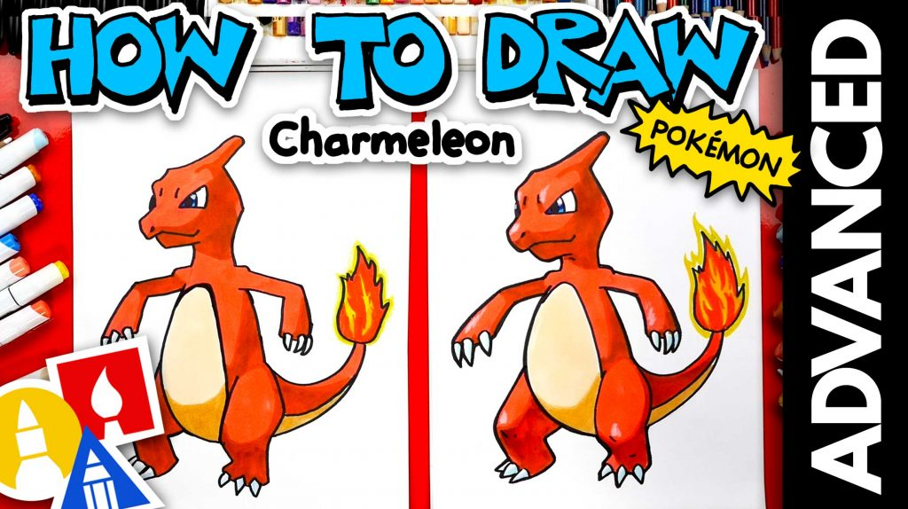 How To Draw Charmeleon Pokémon – Advanced