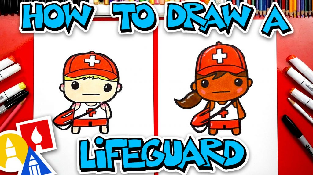How To Draw A Lifeguard