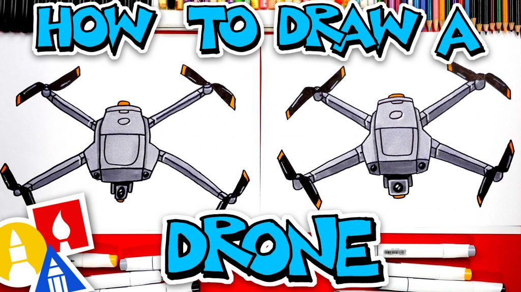 How To Draw A Drone