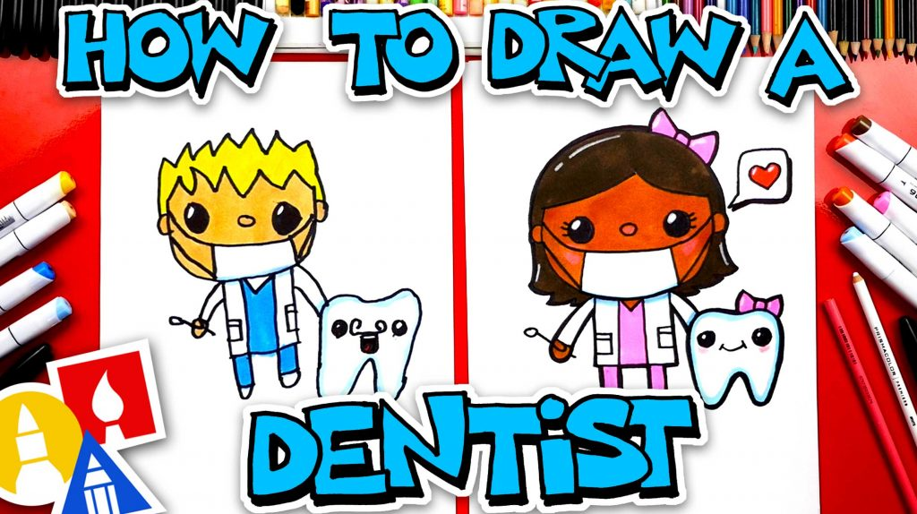 How To Draw A Dentist