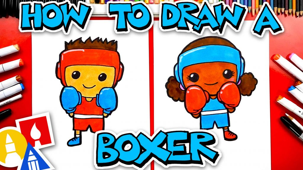 How To Draw An Olympic Boxer – Boxing