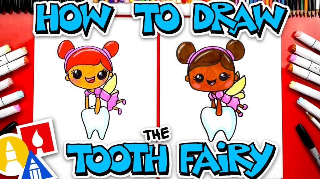 How To Draw The Tooth Fairy